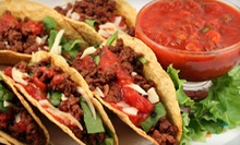 $3 for $10 Worth of Casual Latin Food and Drinks for Two or More at Fuego Tacos