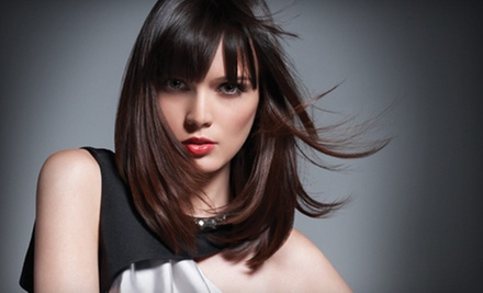 Two Haircuts, or One Haircut with Partial or Full Highlights at Paul Mitchell The School (Up to 52% Off)