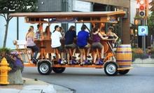 Two-Hour Pub-Crawl Rides for Up to 16 Passengers from Pedal Hopper (Half Off). Two Options Available.
