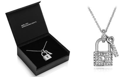 Colar Lock & Key com pendente em forma de cadeado por 14,99€