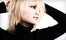 Haircut with Optional Gloss Treatment or Full or Partial Highlights at LaSpina Renewed Image Salon (Up to 63% Off)