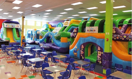 Kids' Bounce Visit for Two or Four or Party for Eight Children at Jumpin' Jamboree (Up to 36% Off)