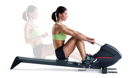 groupon daily deal - ProForm 440 R Rowing Machine (PFRW3914).