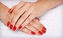 One or Two Shellac Manicures at Expressions in Hair (Up to 58% Off)