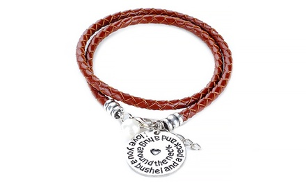 Menpura 'I Love You A Bushel And A Peck' Bracelet