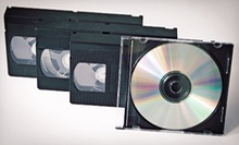 One, Two, or Five Videotape-to-DVD Conversions from Delp Video Services (Up to 61% Off)