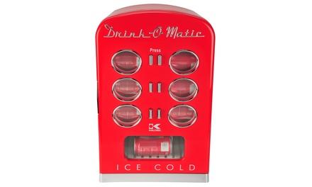 Kalorik 12-Can Red Retro Mini Cooler