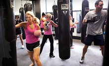 Two Weeks of Boxing and Kickboxing Classes for an Individual or Family at Title Boxing Club (Up to 91% Off) 