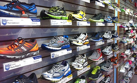 C$20 for C$40 Toward Footwear at North Shore Athletics
