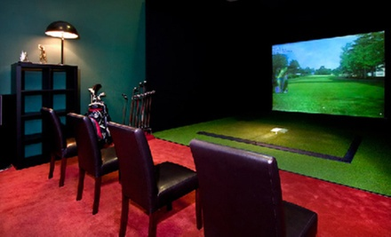 Virtual Golf for Four on Monday–Thursday or Friday–Sunday or Two Private Lessons at Golfer's Paradise (Up to 82% Off)