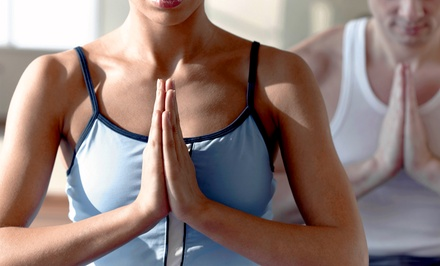 One Month of Unlimited Yoga Classes or 10 Yoga Classes at Nirvana Yoga (Up to 64% Off)