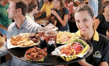$10 for $20 Worth of Wings, Burgers, and Wraps at Buffalo Wild Wings