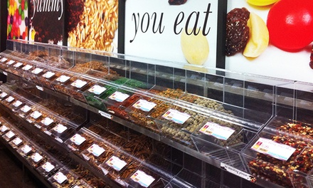 Bulk Snacks, Spices, and Candy at Buy'n Bulk (Up to 36% Off). Two Options Available.