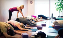 Five Prenatal or Spirit Baby Yoga Classes, or Five Traditional Yoga Classes at Karma Yoga (72% Off)
