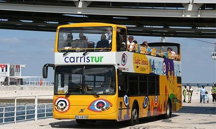 Bilhete para a Tour Tagus Lisboa ou Tour Vintage Porto desde 7,50 € com a Yellow Bus
