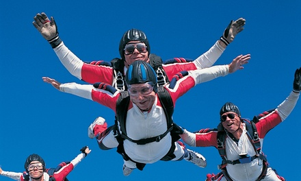 $159 for a Tandem Skydiving Jump at  Dallas Skydiving ($319.99 Value)