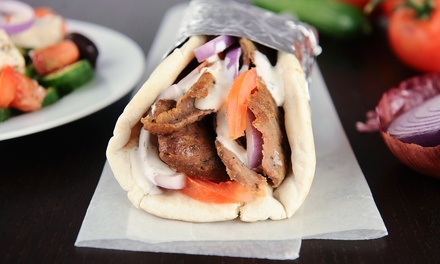$12 for Four Groupons, Each Good for $5 Worth of Pita Sandwiches at Pita Pit ($20 Value)
