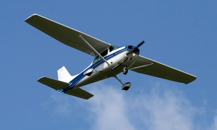 $89.99 for Discovery Flight Lesson with Optional Passenger from Hawk Aviation Flight School ($175 Value)