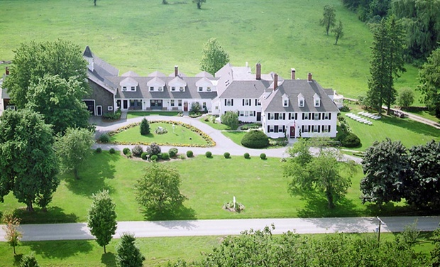 TripAlertz wants you to check out 1-Night Stay for Two at The Inn at Woodstock Hill in Woodstock, CT. Combine Up to 2 Nights. 19th-Century Estate in Connecticut Countryside - Rural Connecticut Inn