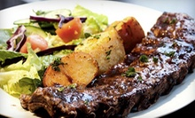 Three-Course Dinner for Two, Valid Sunday–Thursday or Friday–Saturday at Purple Olive Grill (Up to 51% Off)