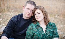 "$49 for an In-Studio or On-Location Couples Shoot with Image CD and Two 8""x10"" Prints at Crave Photography ($177 Value)"
