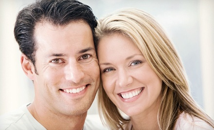 Dental Exam, X-rays, and Cleaning, or Zoom! Teeth-Whitening Treatment at Potomac Dental Clinic (Up to 77% Off)