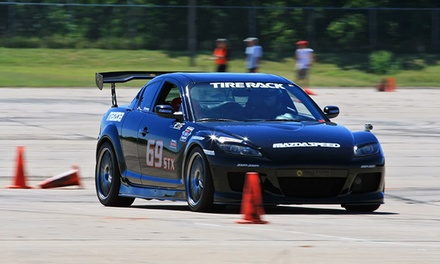 $149 for Introductory Race-Car-Driving Class from EBL Racing ($499 Value)