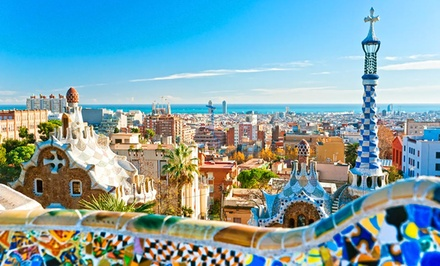groupon daily deal - 8-Day Spain Vacation with Airfare and Train Travel from Great Value Vacations. Price/Person Based on Double Occupancy.