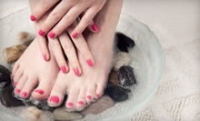 Mani-Pedi, Spa Pedicure, or Three Shellac Manicures from Linda at Monkey Bizness Salon and Day Spa (Up to 58% Off)