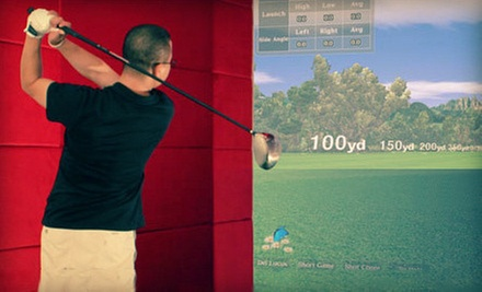 Two- or Three-Hour Golf-Simulator Session and Swing Analysis for Up to Six at The OnGolf Club (Up to 68% Off)
