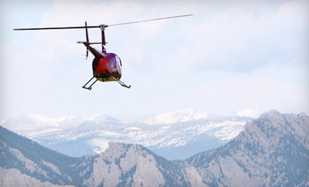 $125 for Helicopter-Tour Package from Colorado Heli-Ops ($440 Value)