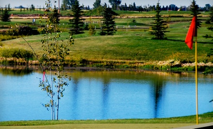 Golf Outing with Cart, Range Balls, and Drinks for Two or Four at Boulder Creek Golf Course in Langdon (Up to 52% Off)