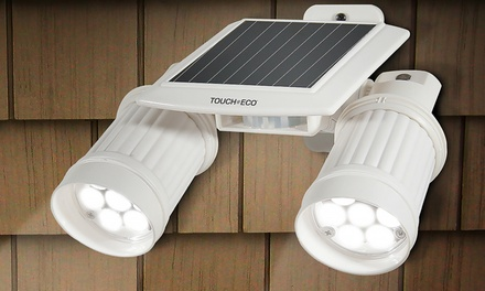 TwinSpot Pro Solar Motion-Detecting LED Light