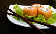 $12.50 for $25 Worth of Asian Cuisine and Drinks at Sushi & Thai