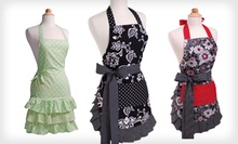 Women's and Girl's Vintage-Inspired Aprons by Flirty Aprons (Up to 66% Off). Multiple Styles Available. Free Returns.
