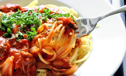$20 for Pasta and Wine for Two at Yarusso's Italian Restaurant (Up to $37.18 Value)
