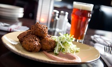 Small Plates and Microbrews at Gilly's in The B.O.B. (Half Off). Two Options Available.