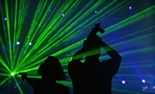Four Laser-Tag Games or Four Playland Sessions at Boomer's Playland & Laser Tag (Up to Half Off)
