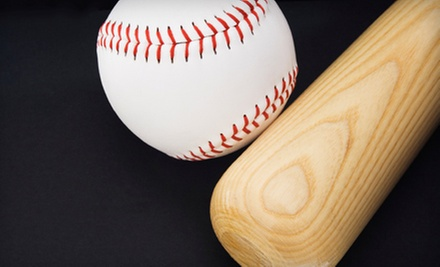 Batting-Cage Tokens or Rental, or Baseball Class at Grand Slam 2 (Up to 60% Off). Four Options Available.