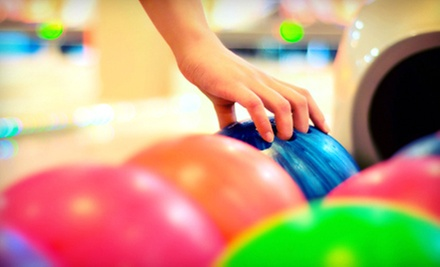 $15 for Game of Bowling for Four with Shoe Rental at Roxbury Lanes &amp; Casino (Up to $32 Value)