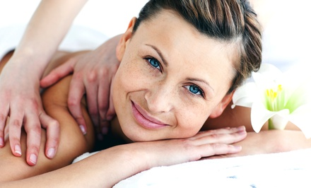 Swedish or Deep-Tissue Massage or Mens Back or Chest Wax with Leonor at Shabby's Skin Kare (Up to 51% Off)