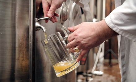 $25 for a Beer-Brewing Class for Two at Booth's Brewing ($50 Value)