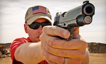 $70 for a Basic AR-15 Rifle Class or Concealed-Handgun-Permit Class at Umbrella Tactics ($140 Value)