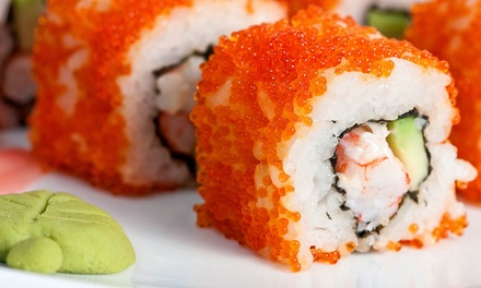 $16 for $30 Worth of Sushi and Pan-Asian Cuisine for Dinner at Fujo Bistro