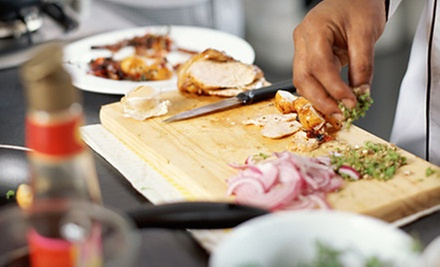 Cooking Class for One, Two, or Four from Chef Serge at Café De Paris (Up to 63% Off)