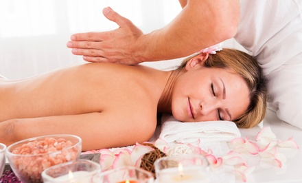 One or Two Groupons, Each Good for One 75-Minute Massage with Aromatherapy at Sha-Ba Wellness & Spa (Half Off)