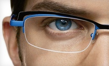 $50 for $150 on First Pair of Prescription Eyewear with a Free Second Pair at The Eyeglass Factory