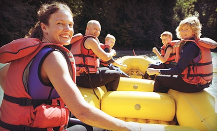 Three- or Five-Hour Raft Rental for Two to Six People from Urban Currents (Up to 51% Off)
