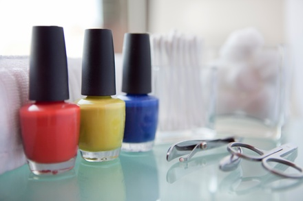 Gel Manicure or Hawaiian Breeze Pedicure at The Nail Lounge (Up to $11 Off)
