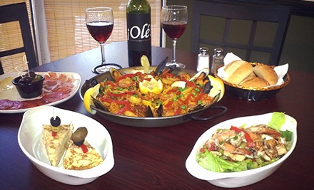 $13 for $24 Worth of Paella for Two at Paella House
